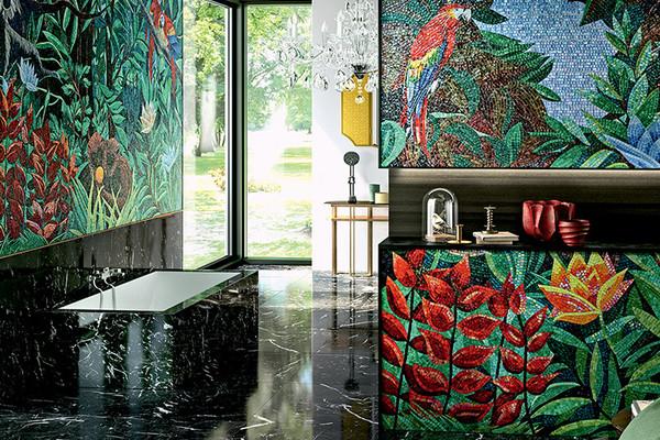 Les mosaïques de luxe par Sicis