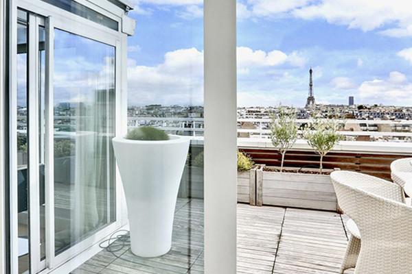 5 appartements à Paris avec extérieur, balcon ou terrasse