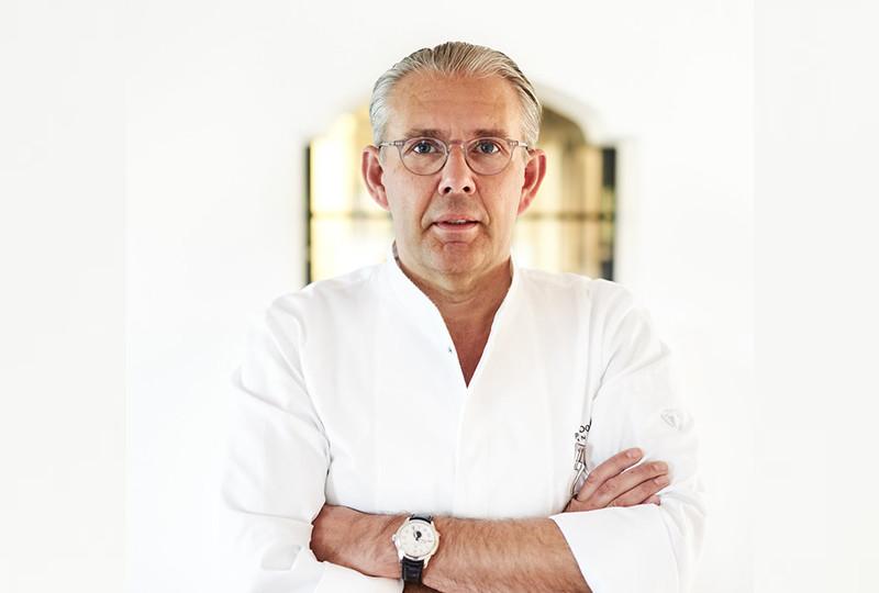 Belgian chef Peter Goossens