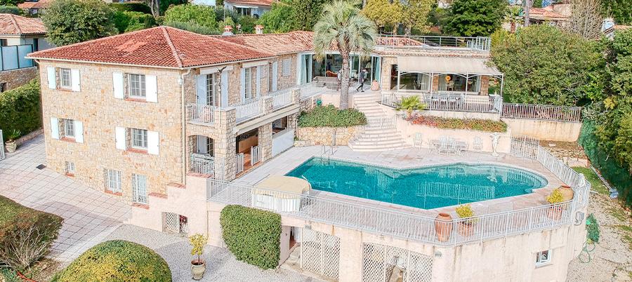 Villa à Cannes
