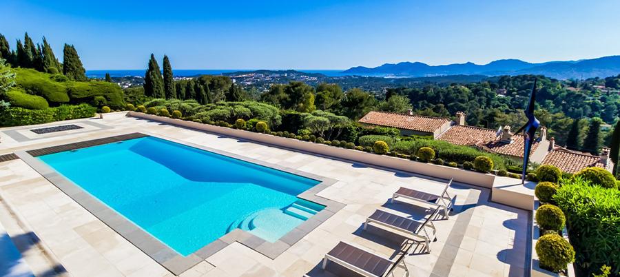 Villa Mougins avec vue panoramique