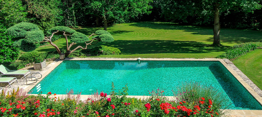 Maison sur Parc arboré avec piscine